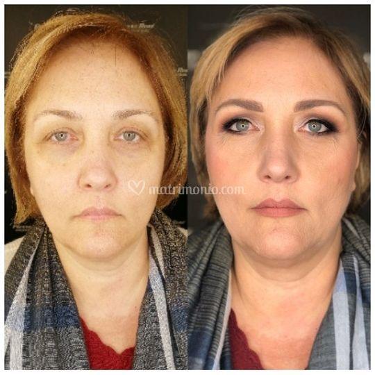 Makeup anti-age