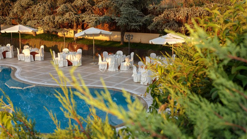Vista su piscina di hotel paradise foto 2 - De gasperi santa maria di sala ...