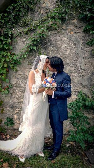 Frame del video Irene e Giulio