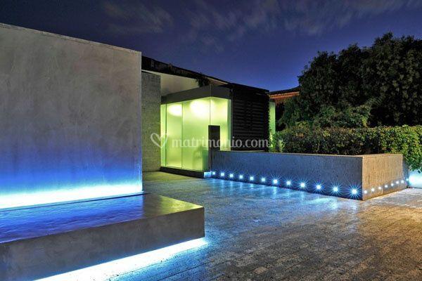 Romano house hotel catania - Illuminazione esterna ...