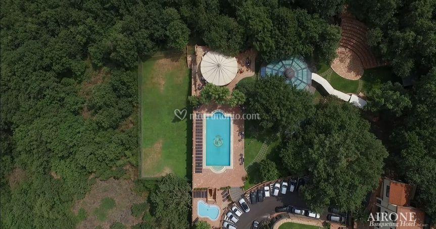 Vista aerea Parco dei Castagni