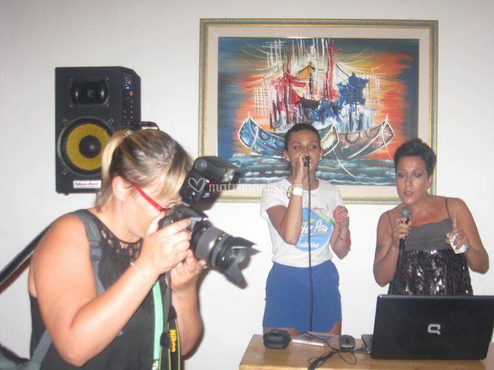 Karaoke . balli di gruppo