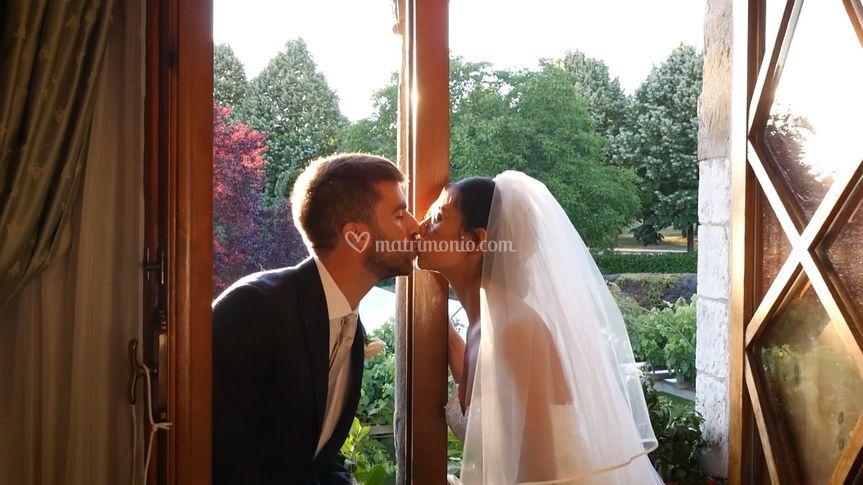 Erica e Filippo (dal video)