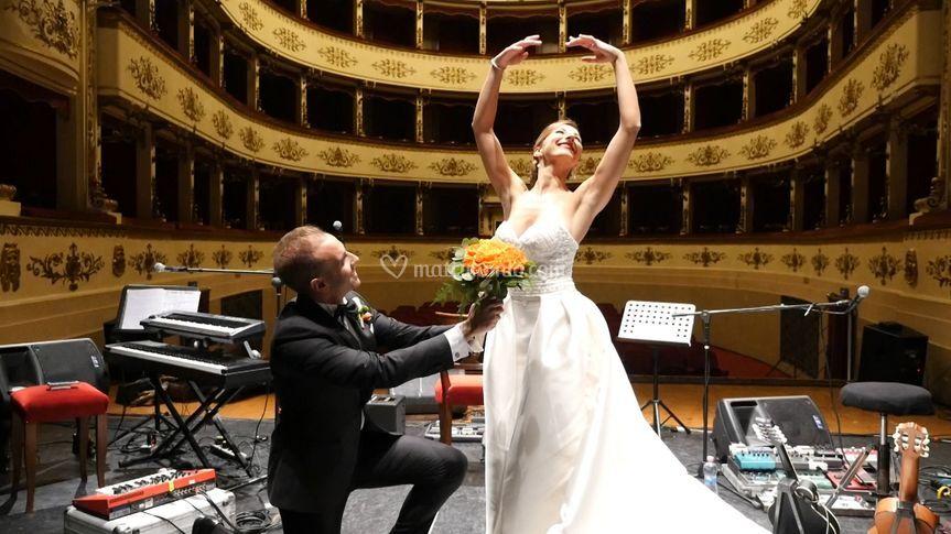 Riccardo e Angelica (da video)