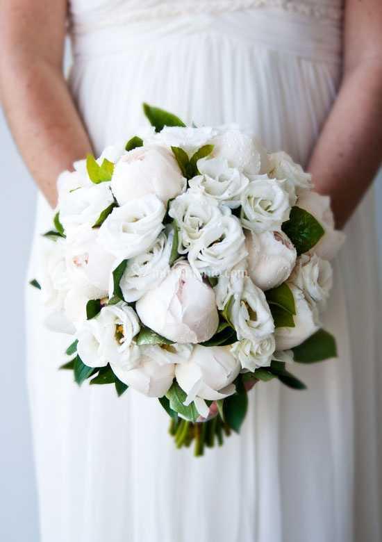 Bouquet Sposa Lisianthus.Bouquet Peonie E Lisianthus Di I Verdi Prati Dell Incanto Foto 39