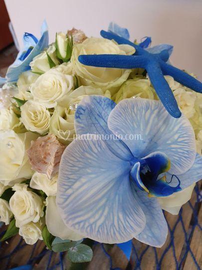 Bouquet a tema marino