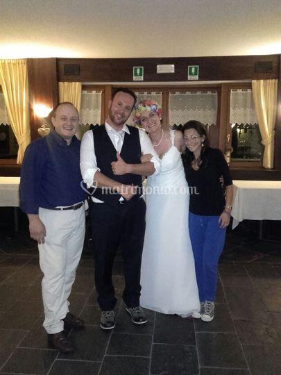 Con Alessia & Francesco