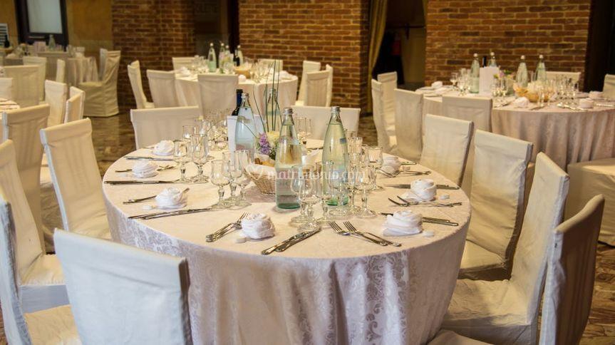 Trattoria del ristoro for Tavoli bianchi