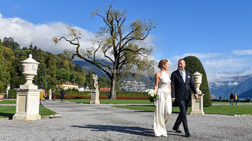 Matrimonio sul Lago di Como