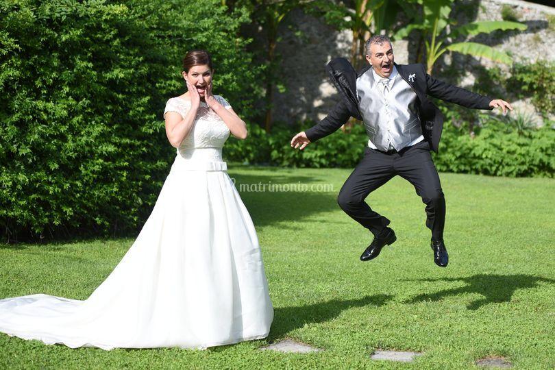 Salti di gioia!