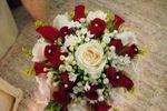 Bouquet con rose rosse di Il Tulipano