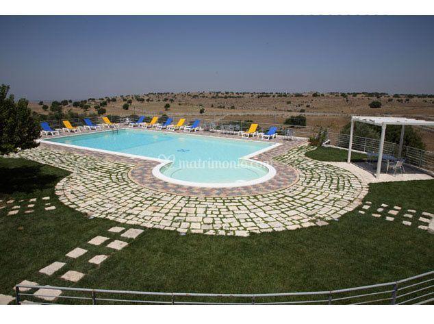 Parco e piscina