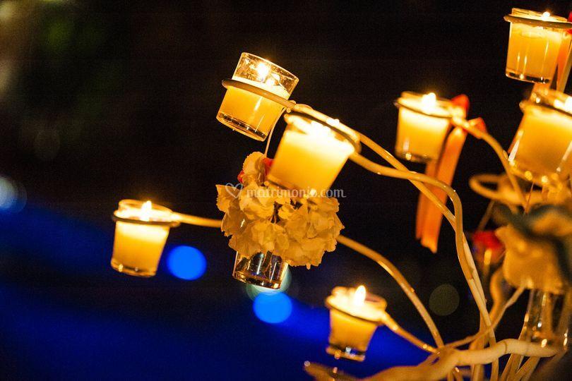 Dettaglio candele