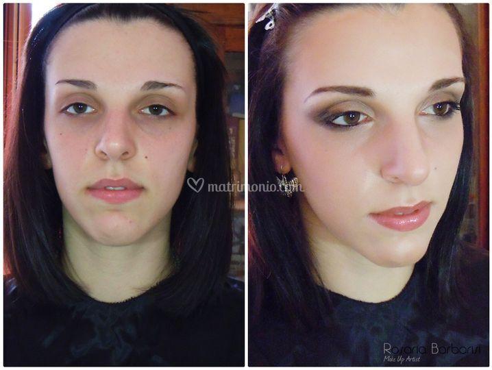Correzione viso allungato
