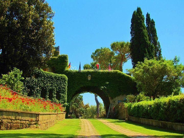 Arco della entrata
