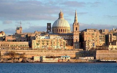 Malta, Partenza da Roma e Milano