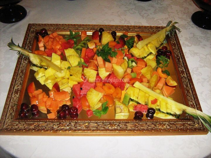 Specchio di frutta
