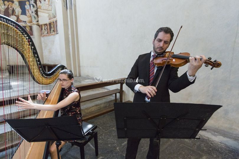 Cerimonia - Arpa e violino