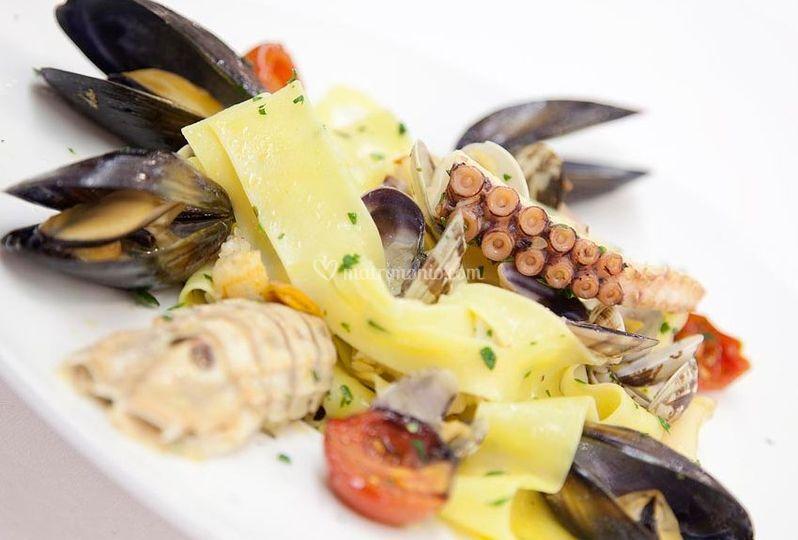 Gustosi piatti di mare