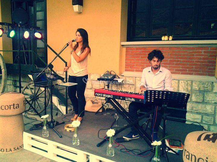 Elodea, piano & voce
