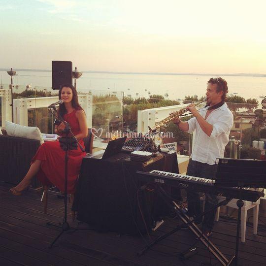 Music in terrace