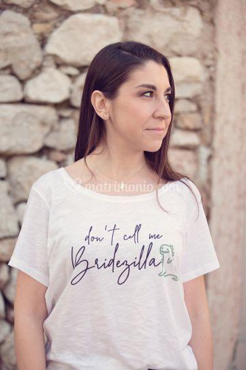 T-shirt sposa