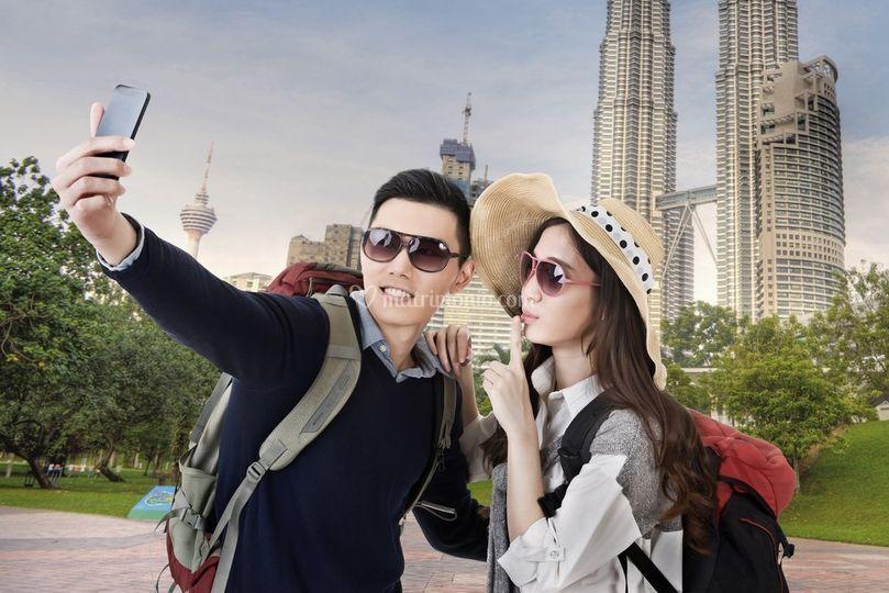 Un selfie a Kula Lumpur