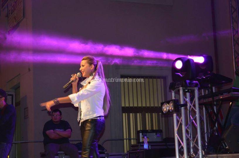 Live sul palco