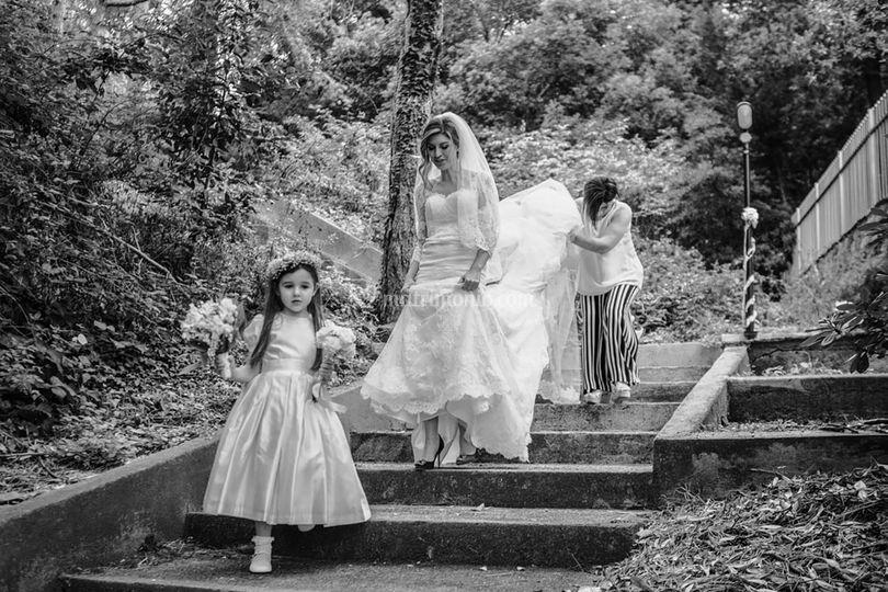 Manuel Rusca wedding a Genova