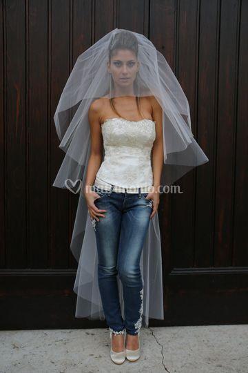 Matrimonio Sposa In Jeans : Follemente sposa