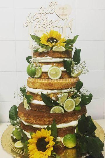 Torte Matrimonio Girasoli : Tema limone e girasole. di made with love la bakery itinerante