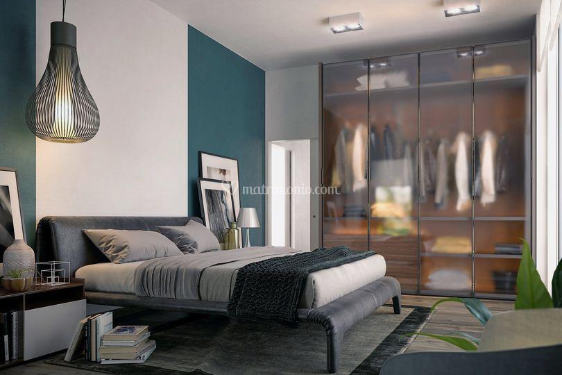 Camera da letto di Meka arredamenti - Mobili e complementi di Arredo ...