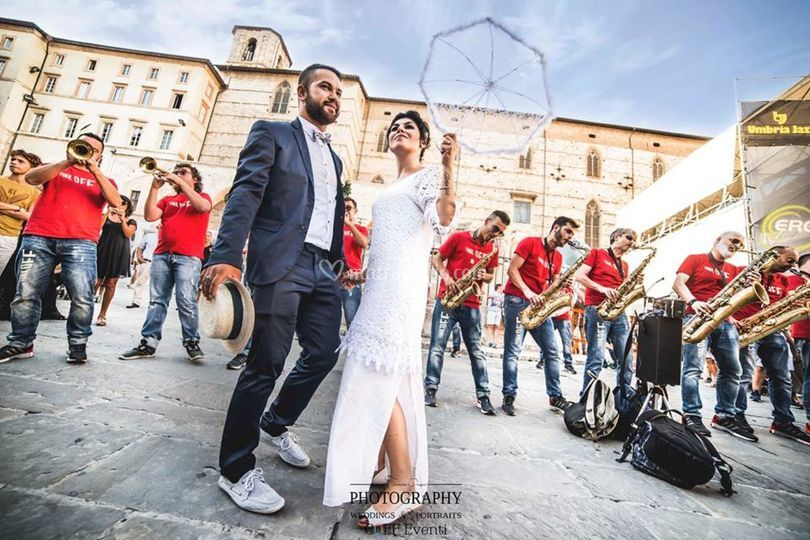 Jazz Wedding Umbria