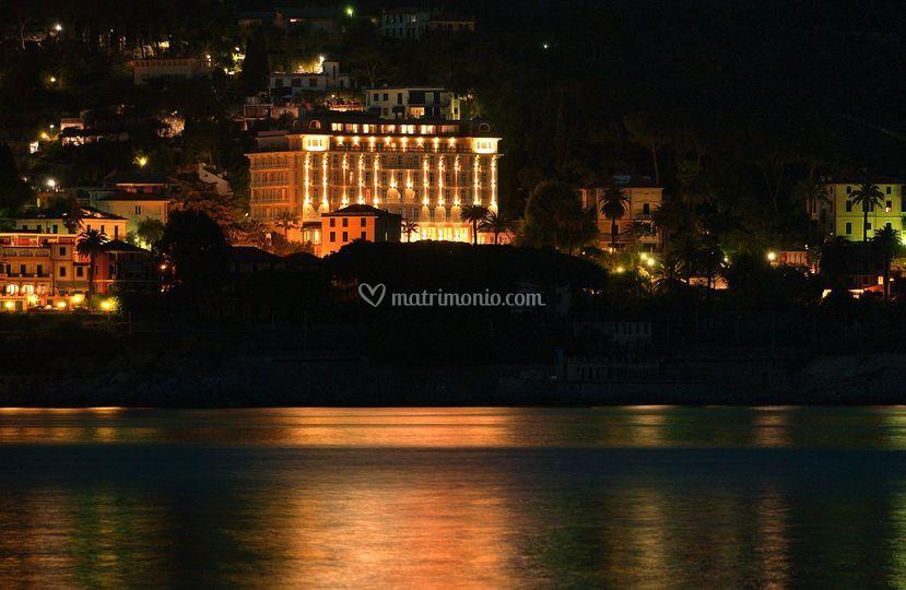 Hotel visto dal mare