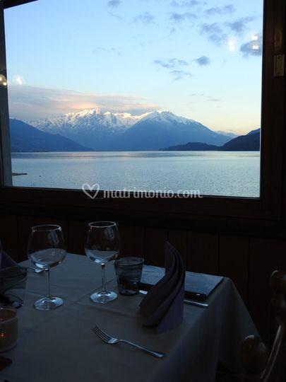 Vista lago - La cucina del Pontile