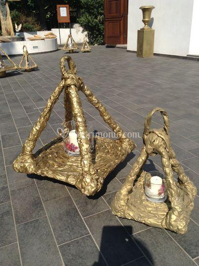 Lanterne create in cartapesta