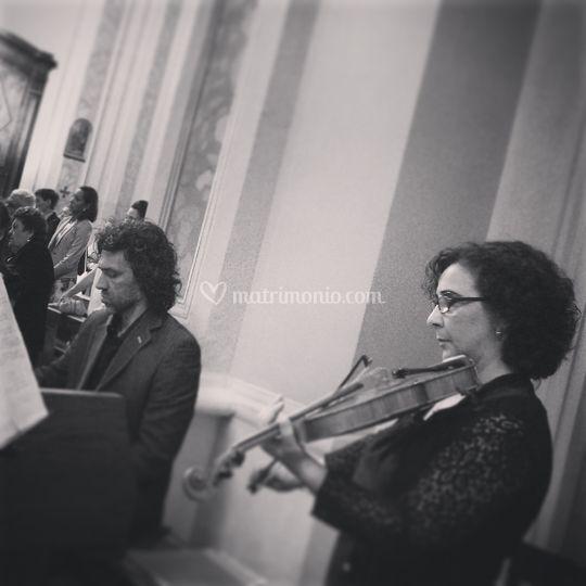 Duo violino organo cerimonia