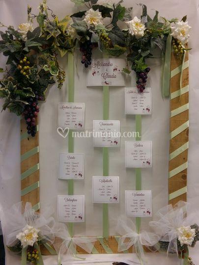 Matrimonio Tema Uva : Tableau uva e vini di promessi sposi bomboniere foto
