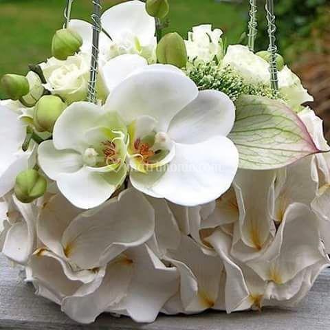 Bouquet  tipo borsetta