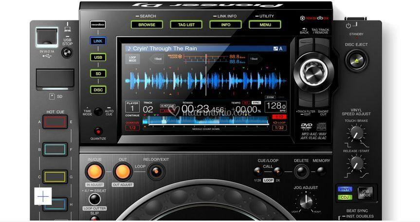 CDj 2000 nxs2 Display touch