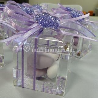 Cubo in cristallo