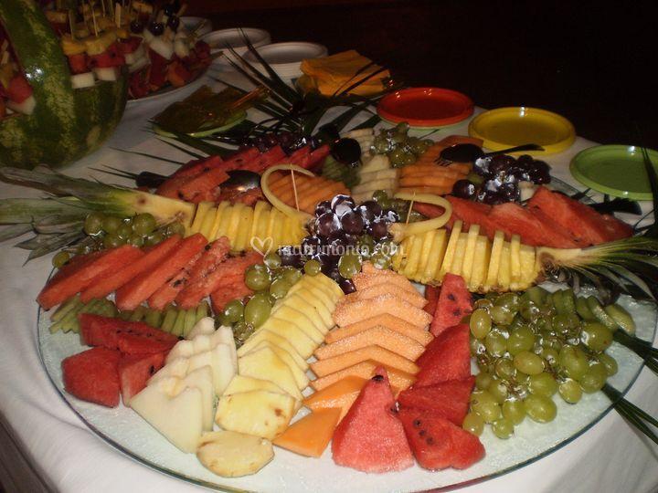 Frutta in bella vista