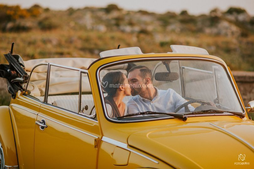 Yellow beatle cabrio 3