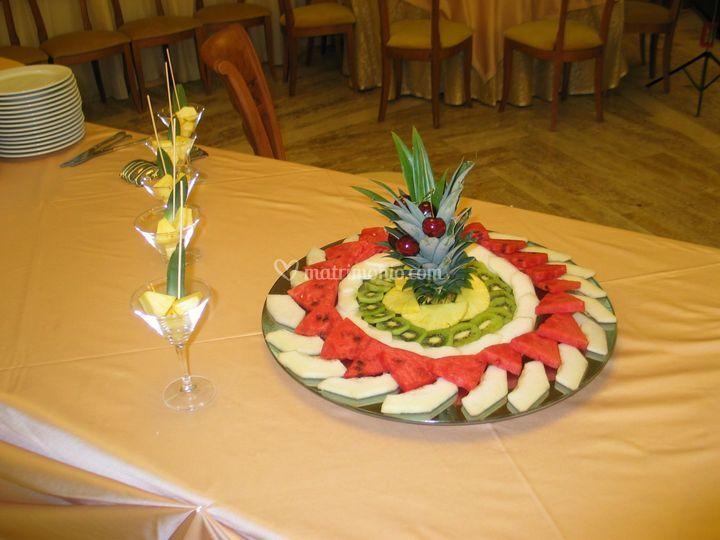 Mosaico di frutta