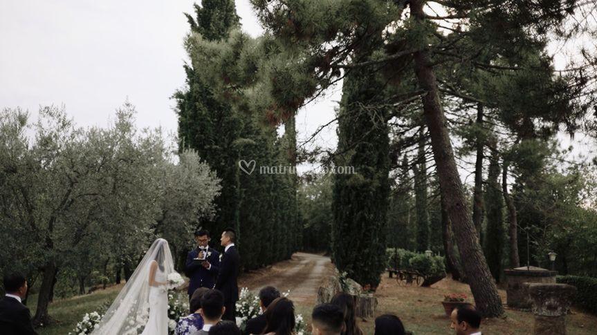 Ceremony, Tuscany