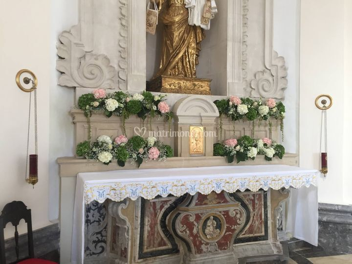 Addobbi altare