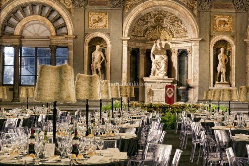 Cena di Gala Palazzo Vecchio