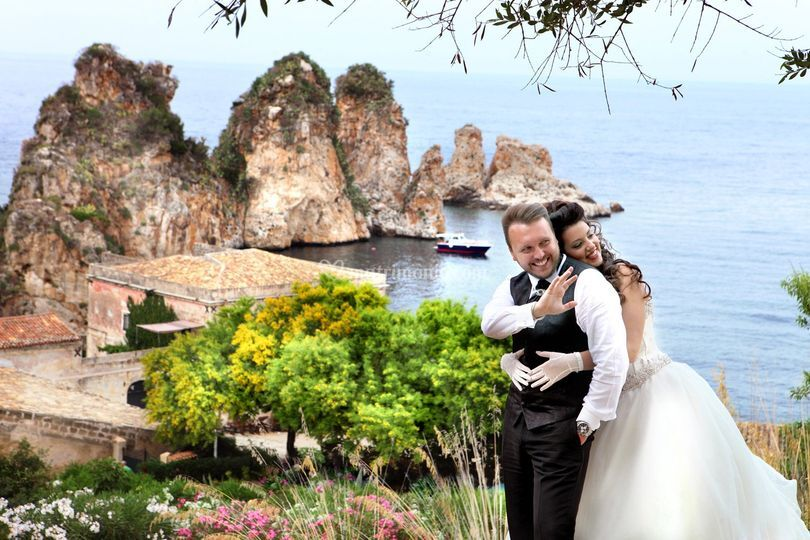 Matrimonio a Scopello
