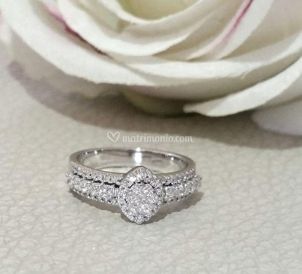Fascia di diamanti