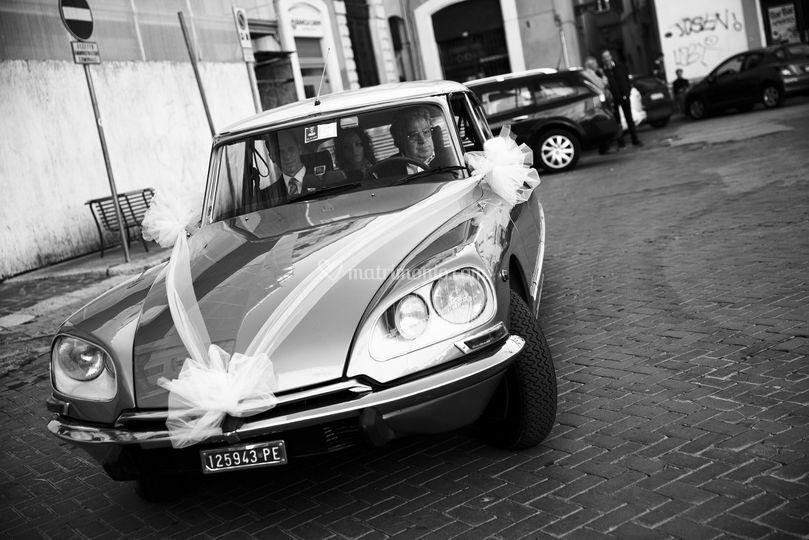 L'arrivo delle sposa